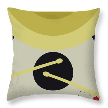 Throw Pillow featuring the digital art No761 My Whiplash Minimal Movie Poster by Chungkong Art