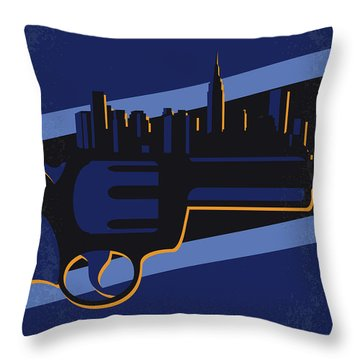 Throw Pillow featuring the digital art No762 My New Jack City Minimal Movie Poster by Chungkong Art