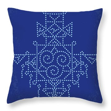 No764 My The Last Airbender Minimal Movie Poster Throw Pillow