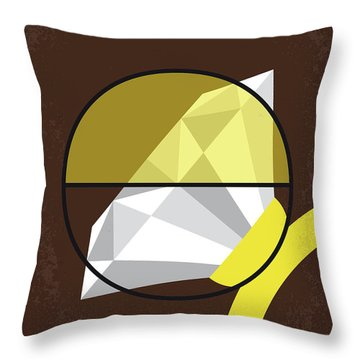 No766 My Donnie Brasco Minimal Movie Poster Throw Pillow by Chungkong Art