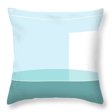 Throw Pillow featuring the digital art No769 My Erin Brockovich Minimal Movie Poster by Chungkong Art