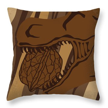 No773 My Land Of The Lost Minimal Movie Poster Throw Pillow