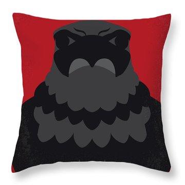 No780 My The Maltese Falcon Minimal Movie Poster Throw Pillow
