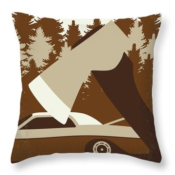No818 My Uncle Buck Minimal Movie Poster Throw Pillow