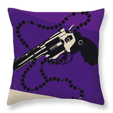 No823 My Mean Streets Minimal Movie Poster Throw Pillow
