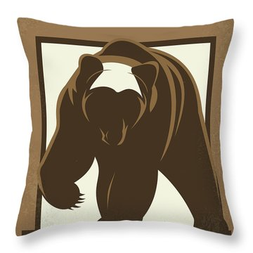 No824 My The Great Outdoors Minimal Movie Poster Throw Pillow