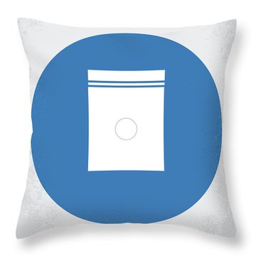 No828 My Limitless Minimal Movie Poster Throw Pillow