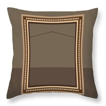 No845 My The Monuments Men Minimal Movie Poster Throw Pillow