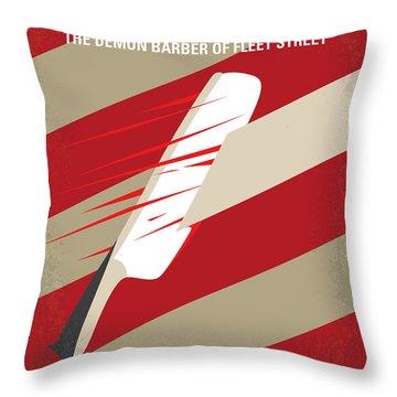 No849 My Sweeney Todd Minimal Movie Poster Throw Pillow