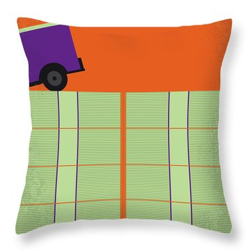 No851 My Masterminds Minimal Movie Poster Throw Pillow