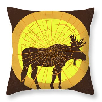 No859 My Why Him Minimal Movie Poster Throw Pillow