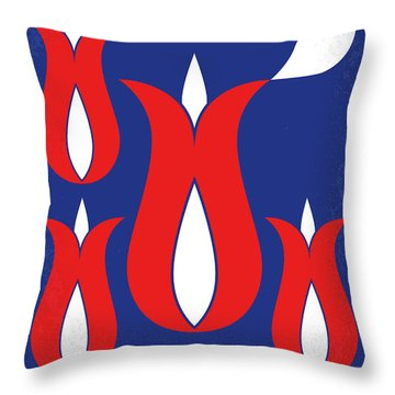 No875 My Tulip Fever Minimal Movie Poster Throw Pillow