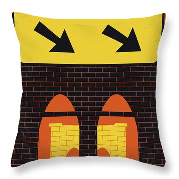 No879 My Last Exit To Brooklyn Minimal Movie Poster Throw Pillow