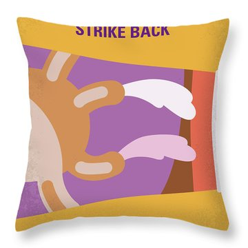 No889 My Jay And Silent Bob Strike Back Minimal Movie Poster Throw Pillow