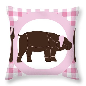 No921 My Okja Minimal Movie Poster Throw Pillow