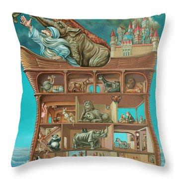 Noahs Arc Throw Pillow
