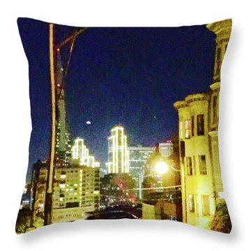 Nob Hill Electric Throw Pillow