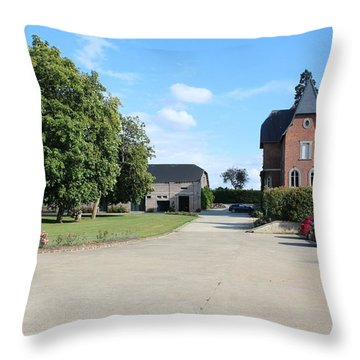 Nobecourt Throw Pillow