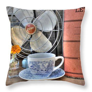 Nobody Writes Letters Anymore Throw Pillow by Jane Linders