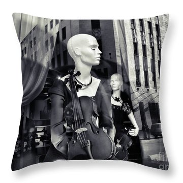 Nobody's Dream Throw Pillow