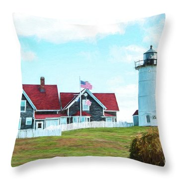 Nobska Light Throw Pillow