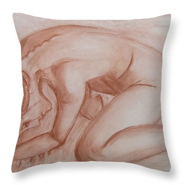 Nocturne Throw Pillow by Jarko Aka Lui Grande
