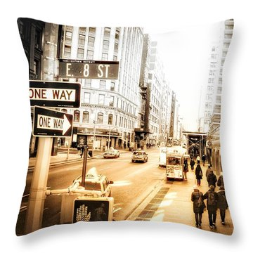 Noho Throw Pillow