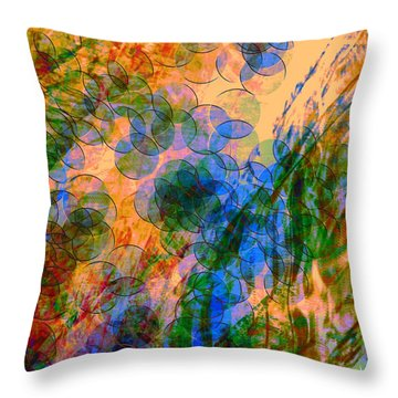 Noise No.2 Throw Pillow