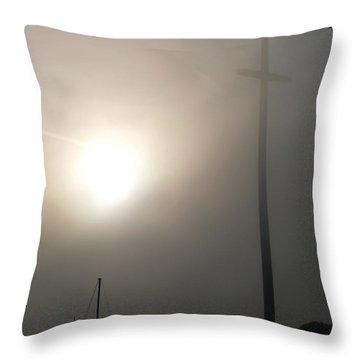 Nombre De Dios - The Great Cross Throw Pillow