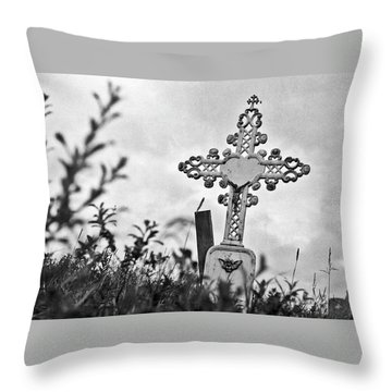 Throw Pillow featuring the photograph Nome by Laurie Stewart