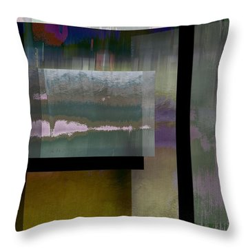 Non-objective 1 Throw Pillow