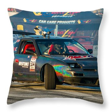Nopi Drift 2 Throw Pillow