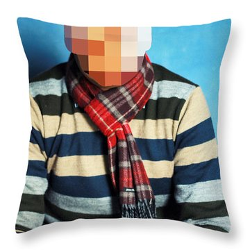 Nor That Throw Pillow by Prakash Ghai