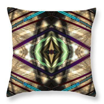 Nordstrom Sculpture No 53 Ver2 Throw Pillow by Raymond Kunst
