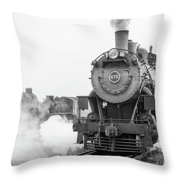 Norfolk And Western 475 Throw Pillow
