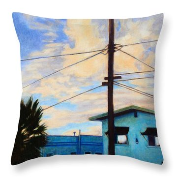 Normal Ave Throw Pillow by Andrew Danielsen