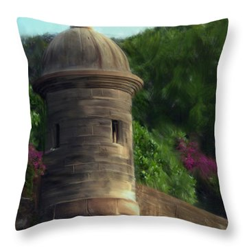 Norma's Pr Tower Throw Pillow