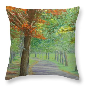 Normaway Inn Throw Pillow