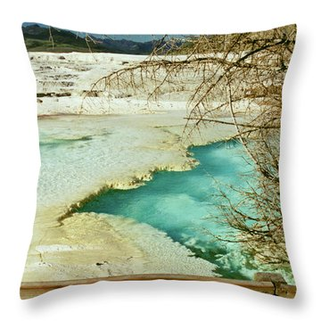 Norris Hot Spring Throw Pillow