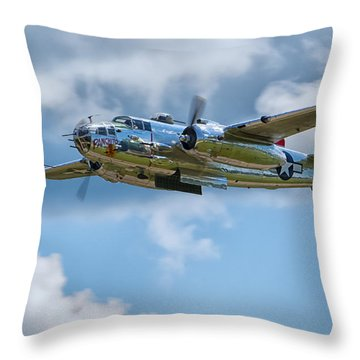 North American B-25 Mitchell Throw Pillow