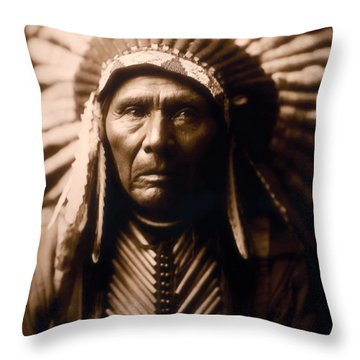 North American Indian Series 2 Throw Pillow