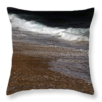 North Beach, Oahu IIi Throw Pillow