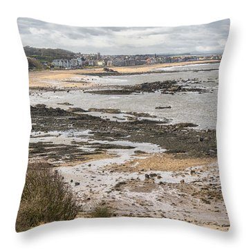 North Berwick, East Lothian Throw Pillow