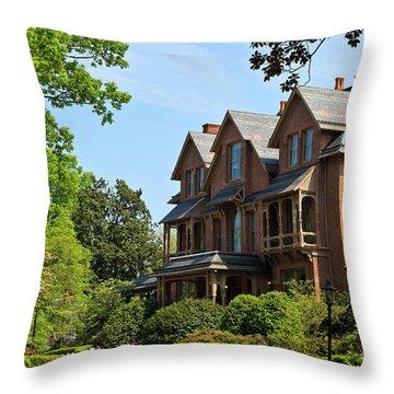 North Carolina Executive Mansion Throw Pillow