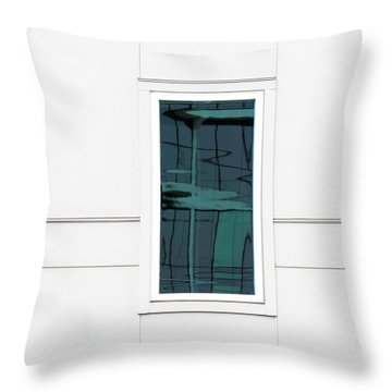 North Carolina Windows 2 Throw Pillow