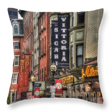 North End Charm 11x14 Throw Pillow