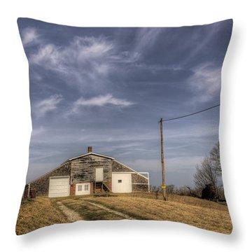 North Fork Farm Throw Pillow