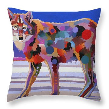 North From Here Throw Pillow