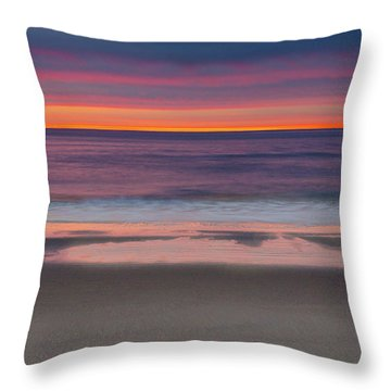 North Hampton Sunrise Throw Pillow