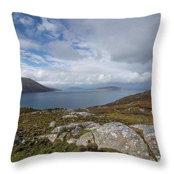 North Harris Views Throw Pillow